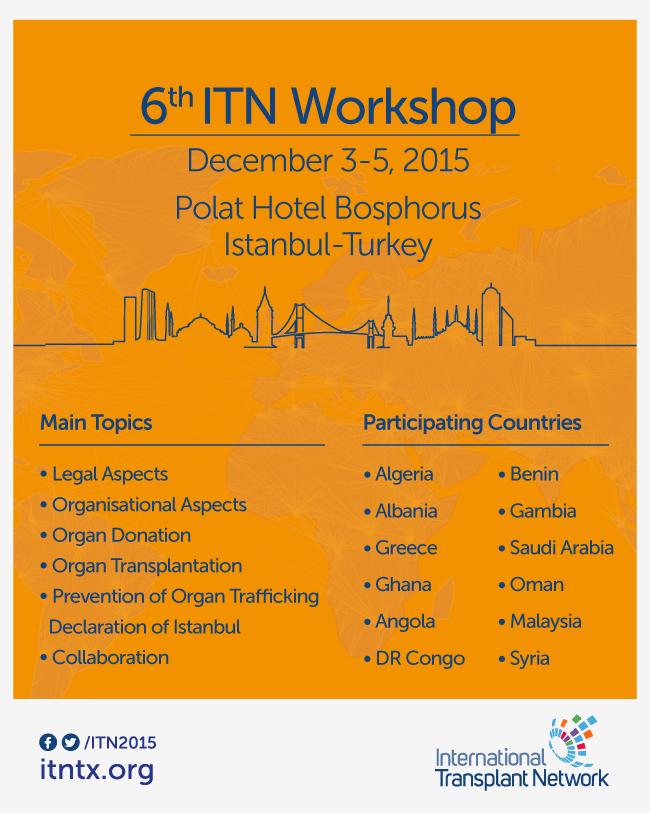 6<sup>th</sup> ITN Workshop