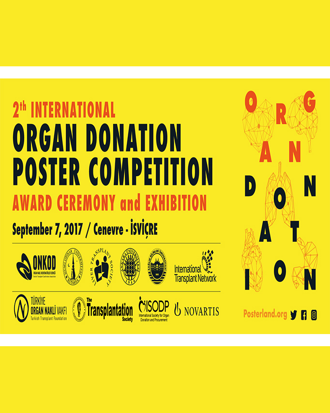 2th International Organ Donation Poster Competition