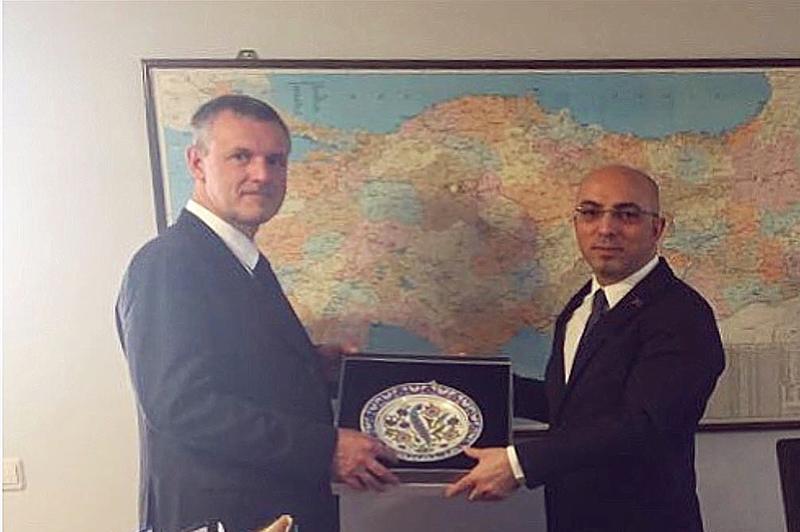 Belçika Krallığı Ankara Büyükelçiliği Ziyareti