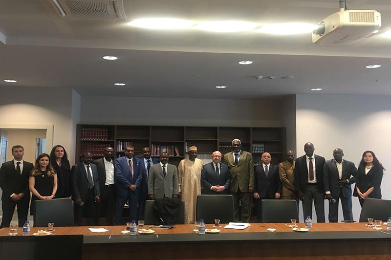 Çad Cumhuriyeti Sağlık Bakanlığı Heyeti Türkiye Ziyareti