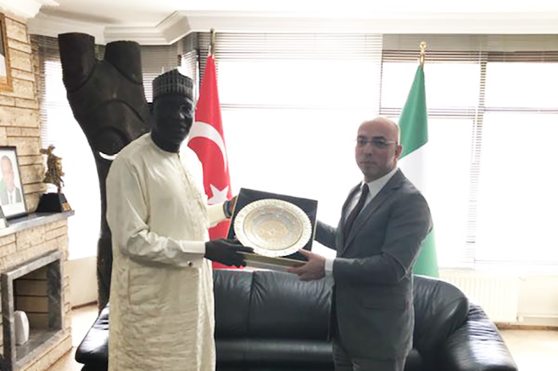 Nijerya Federal Cumhuriyeti Ankara Büyükelçisi Ziyareti 2018