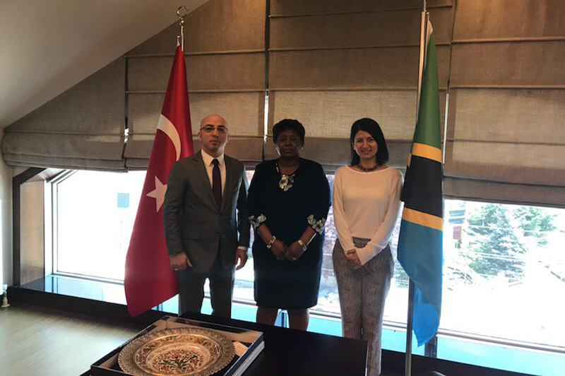 The Visit of the President of Turkish Transplant Foundation to the Embassy of the United Republic of Tanzania