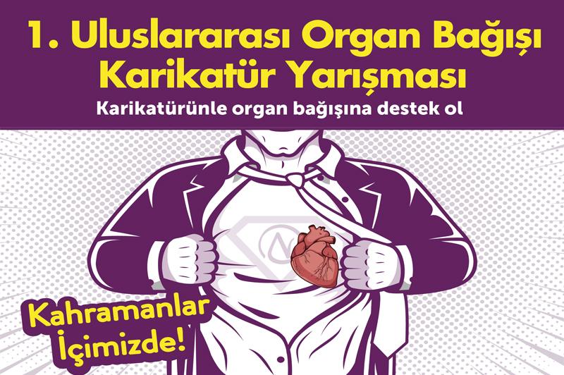 1. Uluslararası Organ Bağışı Karikatür Yarışması