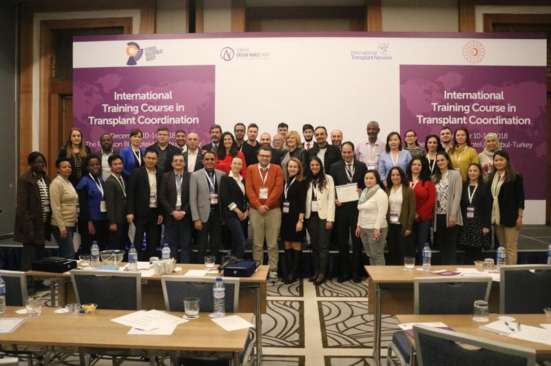 Uluslararası Organ Nakli Koordinatörleri Eğitim Kursu – 10-14 Aralık 2018