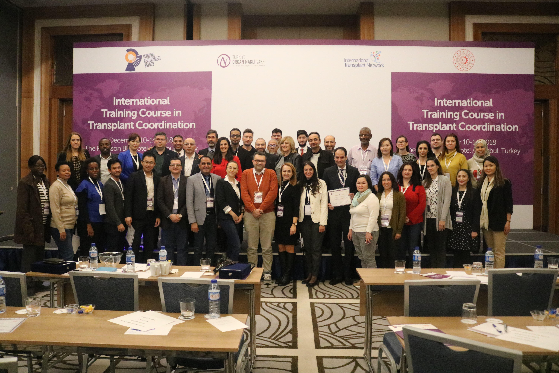 Uluslararası Organ Nakli Ağı (ITN) Organ Koordinatörleri Uluslararası Eğitim Kursu